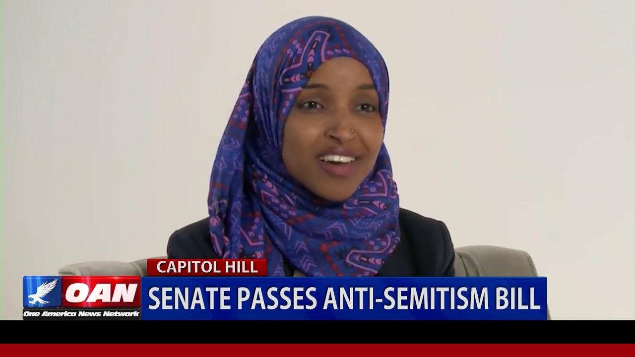 OAN - Senate passes anti-Semitism bill
