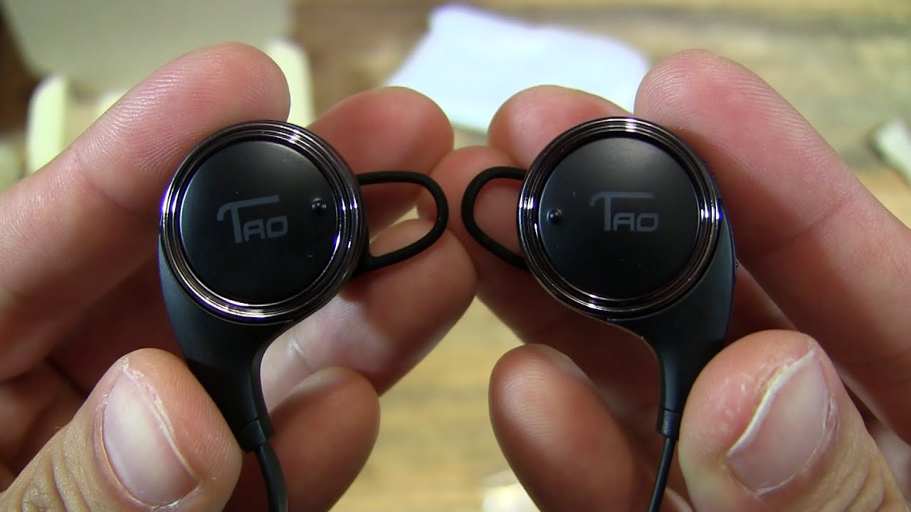 Bluetooth headphones wireless with mic - taotronics bluetooth headphones with mic