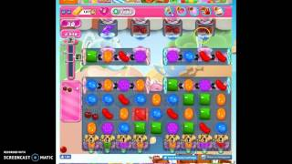 Candy Crush Level 1606 help w/audio tips, hints, tricks
