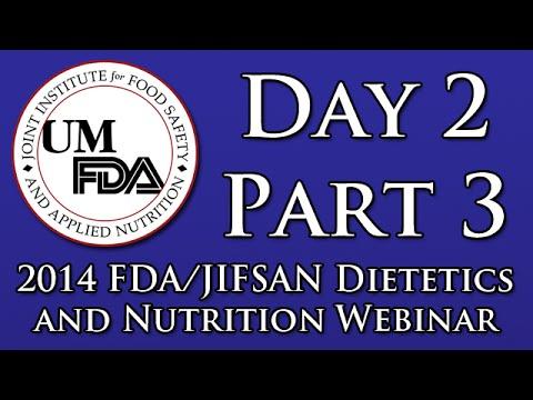 2014 Dietetics and Nutrition Webinar - FDA's Regulatory Program on Chemical Contaminants