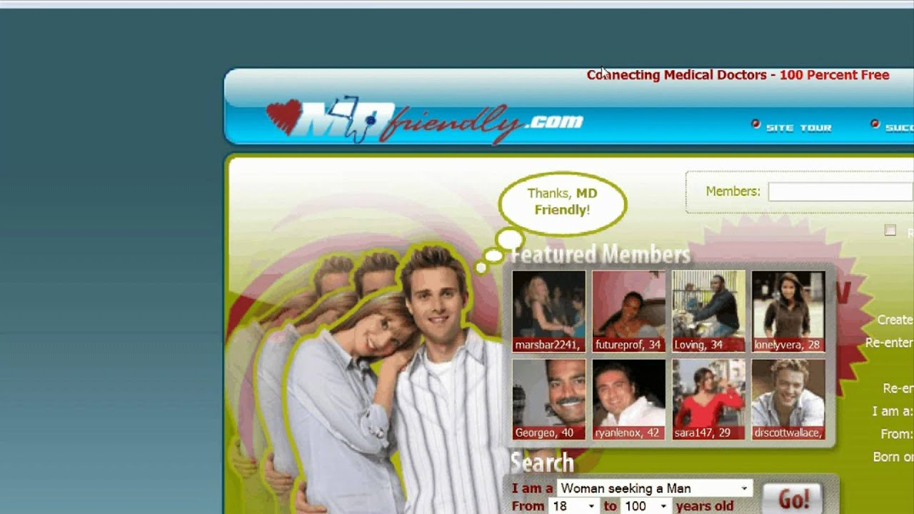 Dating websites for medical doctors