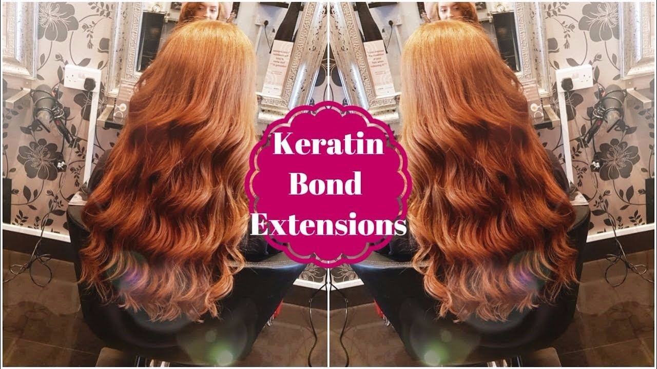 Keratin Bond Extensions My Thoughts My Experience Hair