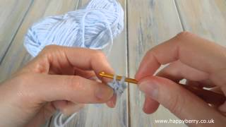 (crochet) How To - Single Crochet (sc) - Absolute Beginners
