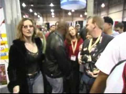 Mike Tyson Walks Through A Porn Convention