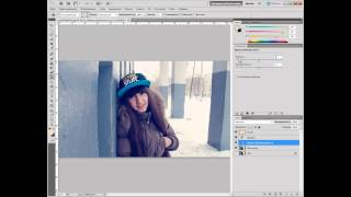 Урок #3 : Instagram Effect [Adobe Photoshop CS5]