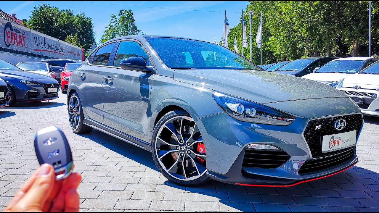 2019 hyundai i30n fastback performance exhaust pops start up interior youtube