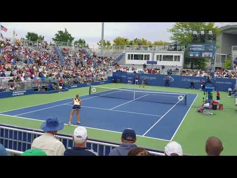 US OPEN 2017 - Daria Kasatkina Match Point Over Jelena Ostapenko