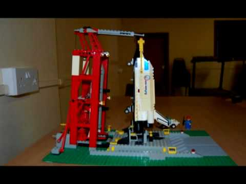 lego space shuttle and plane - photo #31