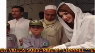 Reham Khan doing different activities