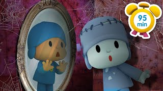 👻 POCOYO in ENGLISH - Halloween Mirror [ 95 min ] | Full Episodes | VIDEOS and CARTOONS for KIDS