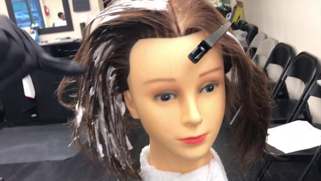Virgin Hair Lightening And Haircolor Retouch Ca State Board The
