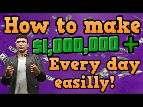 Download GTA online guides - How to earn $1,000,000+ The lazy mans way! Pictures