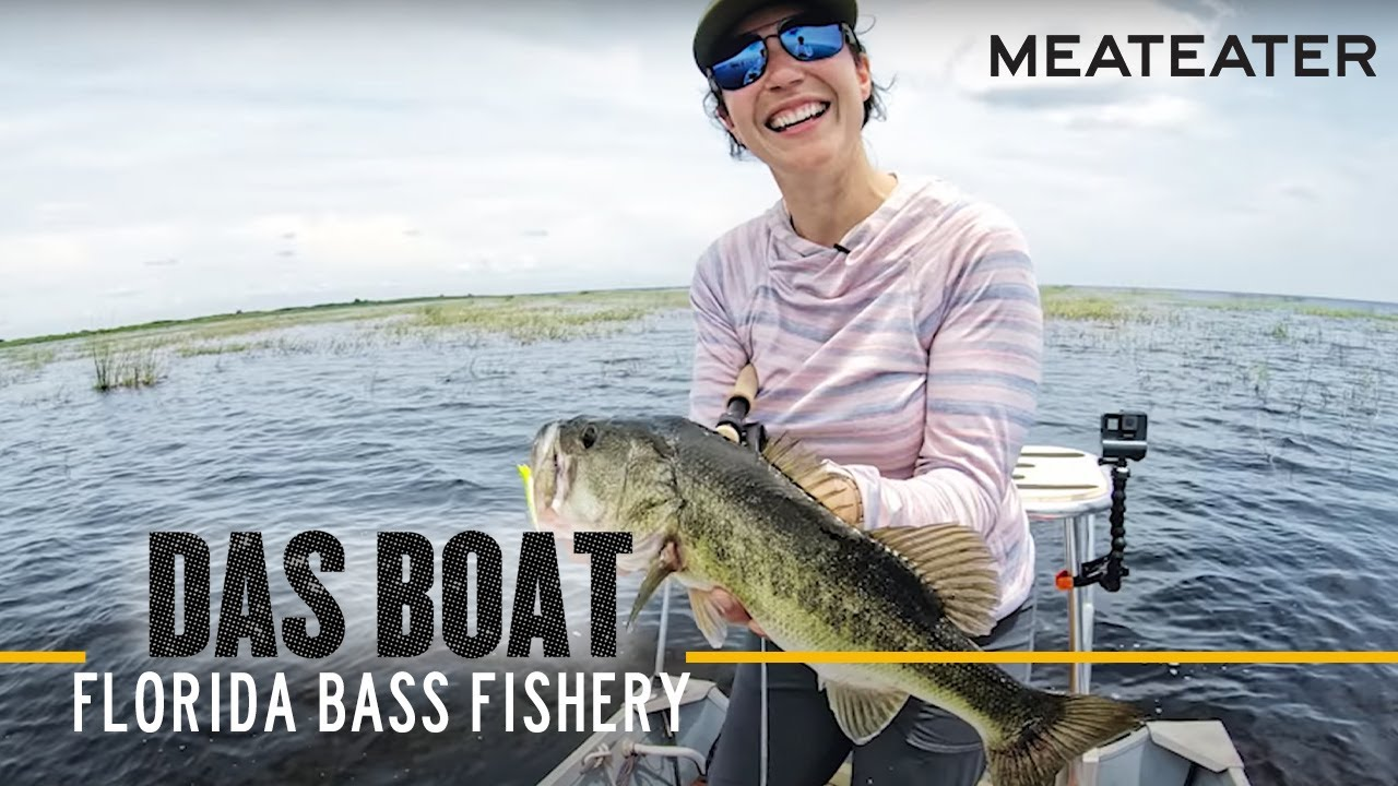 Das Boat Episode 4: April Vokey and Oliver Ngy Tackle a Notoriously Complex Bass Fishery in Florida