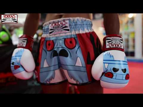 YOKKAO Muay Thai Shorts Monster Collection: Boxing Gloves And Muay Thai Shorts