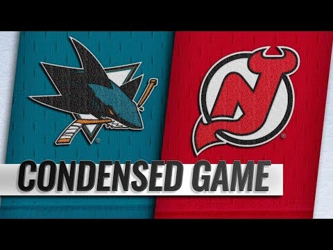 San Jose Sharks vs New Jersey Devils – Oct.14, 2018 | Game Highlights | NHL 18/19 | Обзор матча