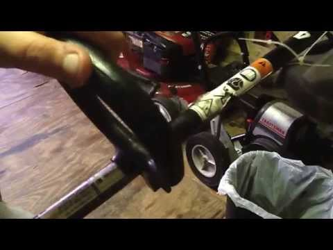 Troy Built 4 Cycle Trimmer Repair Tutorial Full Uncut Doovi
