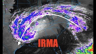 Hurricane Irma energy soars over Houston after a 5000 mile journey - Seriously, what are the odds?