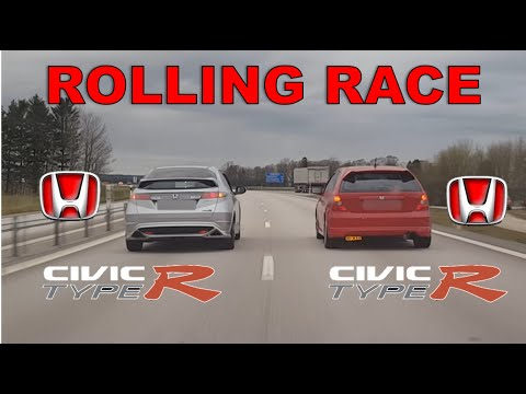 Civic       Type      R    FN2  236hp  vs    Civic       Type      R       EP3     248hp   YouTube
