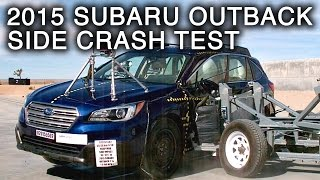 2015 Subaru Outback | Side Crash Test