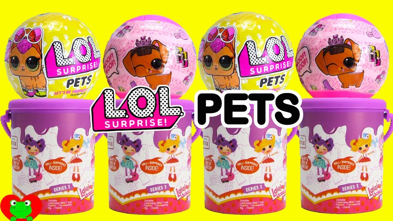 LOL Surprise Pets And Lalaloopsy Mini Dolls