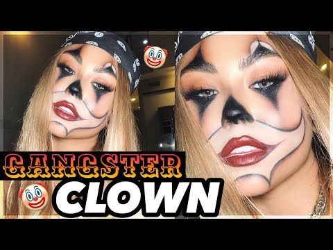 GANGSTER CLOWN HALLOWEEN MAKEUP TUTORIAL ft. Chrisspy, Jenny69, Gabriel Zamora & Heather Sanders thumbnail