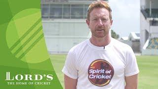 MCC Spirit of Cricket Message | Play Hard, Play Fair