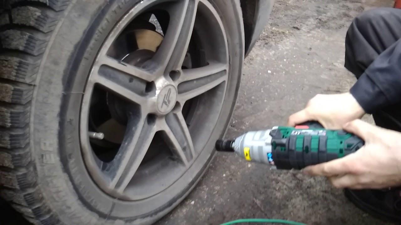 Car Wheel Bolt Lug Nut Parkside Impact Driver Lidl Pdssa 20v