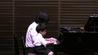 2014年6月22日 於長岡リリックホール コンサートホール 敬臣4歳11ヵ月.
