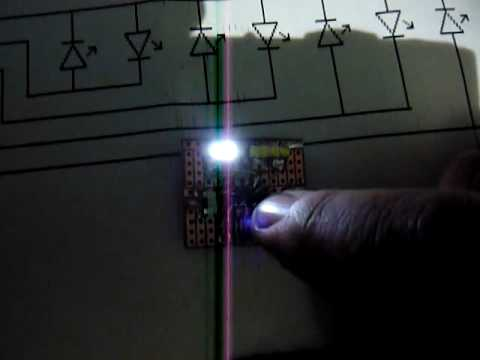 My Very First SMD 8 Led Chaser - YouTube