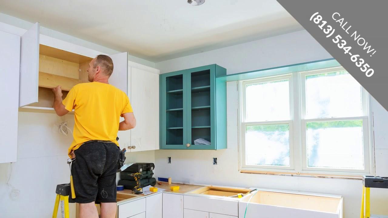 Kitchen Construction St. Petersburg FL   Call (813) 534-6350 - YouTube