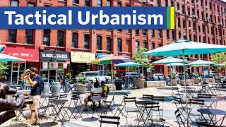 The quick way t๐ make new pedestrian plazas
