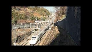 【引退間近】700系新幹線 湘南の街を疾走! Japan Railway/Japan Train