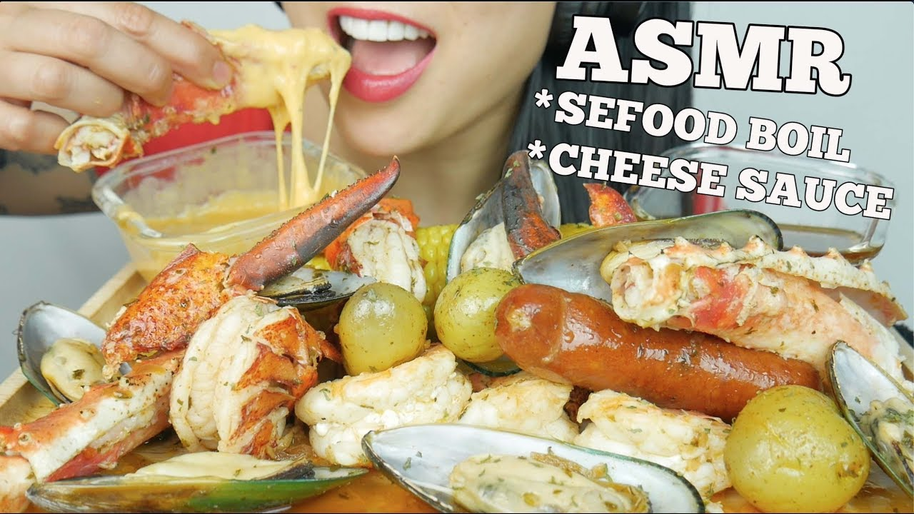 Asmr Seafood Boil Cheesy Seafood Sauce Satisfying Eating Sounds No Talking Sas Asmr Youtube Rating honeycomb asmr why parody videos? asmr seafood boil cheesy seafood sauce satisfying eating sounds no talking sas asmr