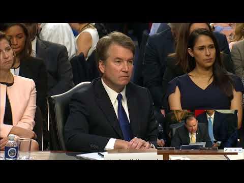 Mike Lee  Statement: Brett Kavanaugh SCOTUS Hearing.