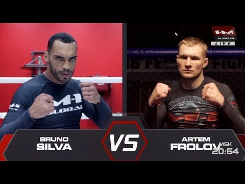 Бруно Сильва vs Артем Фролов, M-1 Challenge 98 (На русском)