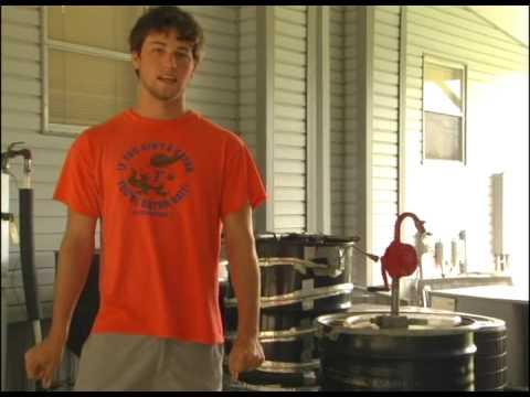 Biodiesel from waste vegetable oil- 2008 BioEnergy Summer School