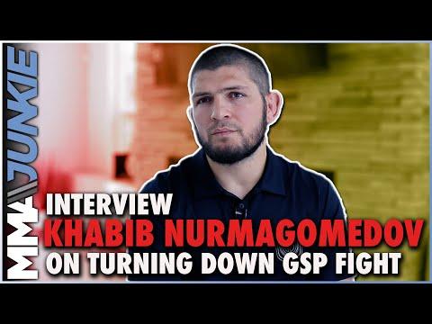 Khabib Nurmagomedov declines Georges St-Pierre UFC fight offer, stays retired