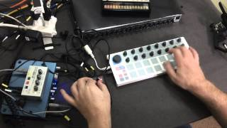 using an arturia beatstep with the meeblip anode metamicrolabs com
