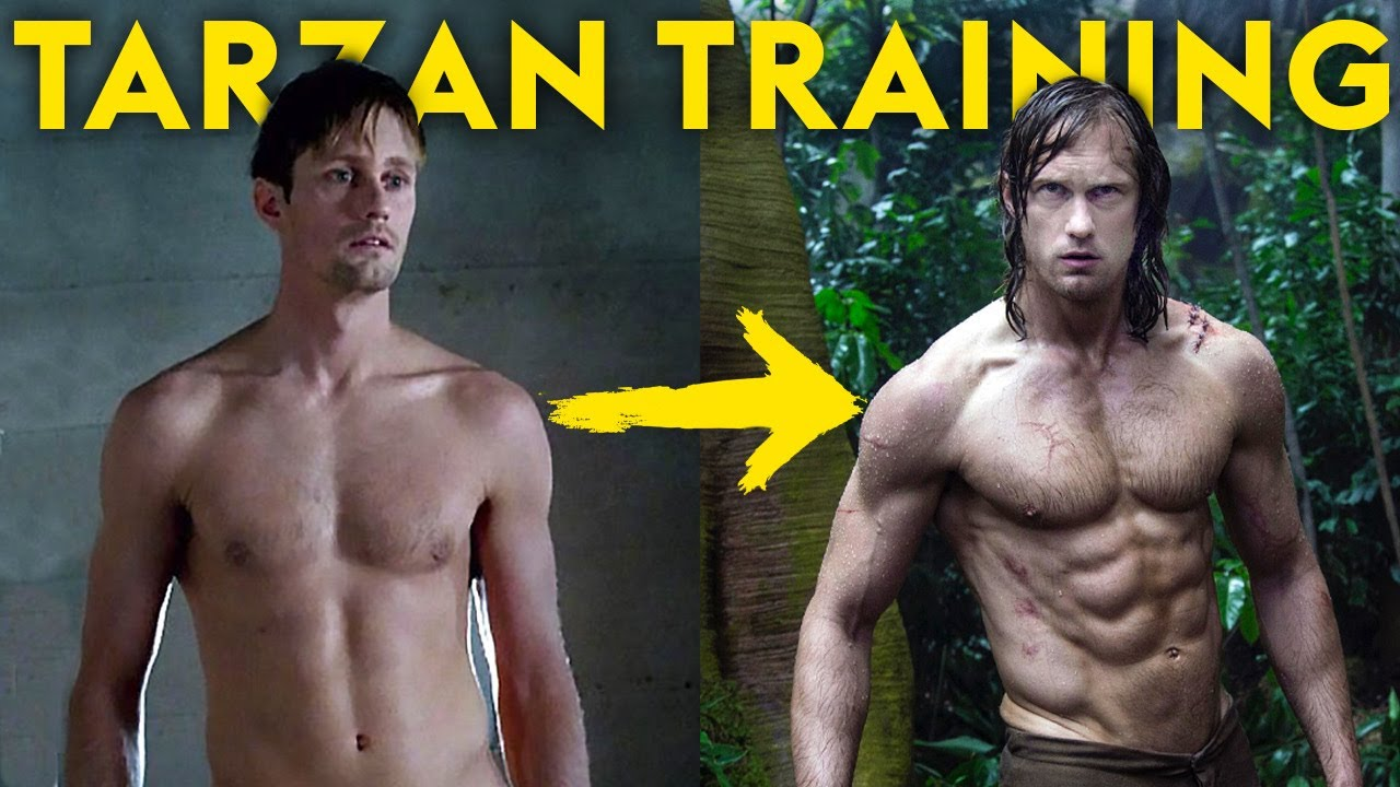 How To Get Abs Like Tarzan (Alexander Skarsgård)