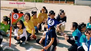 Урок физкультуры в корейской школе