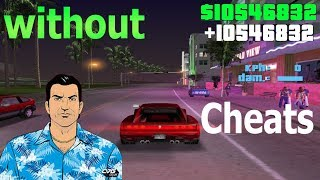 rockstar game unlimited money in gta vice city ! with cheats and without cheats