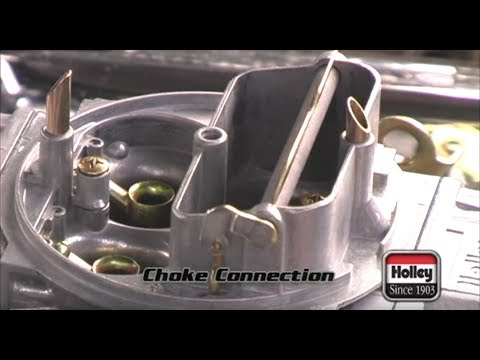 Installing A Manual Or Electric Choke On A Holley Carburetor YouTube