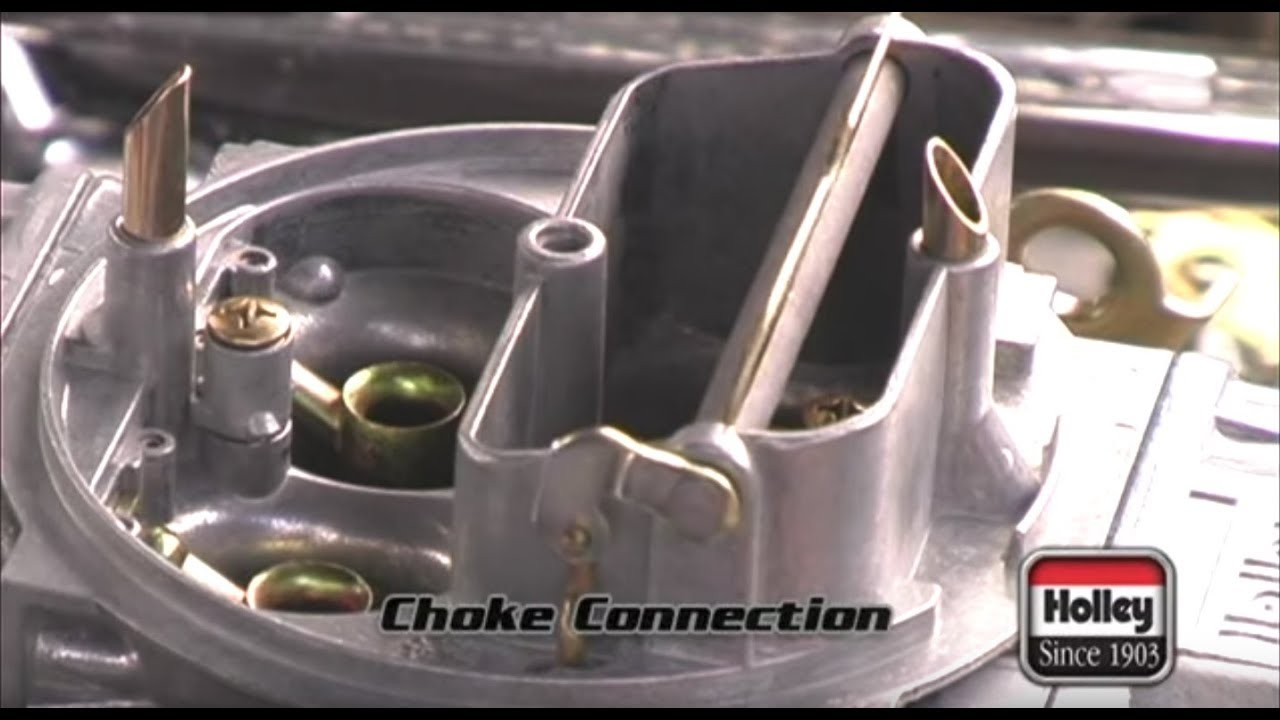 Installing A Manual Or Electric Choke On Holley Carburetor Youtube Home Fuse Box 1957