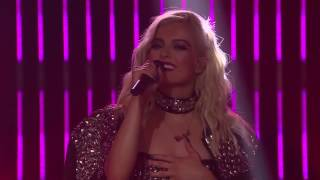 Bebe Rexha No Broken Hearts ft. Nicki Minaj Live Late Late Show
