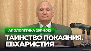 Таинство покаяния. Евхаристия (МДА, 2012.05.25) — Осипов А.И.