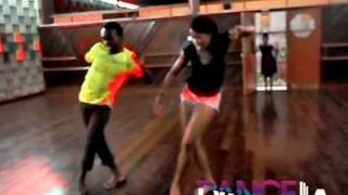 """Kimiko & JR """"Couple Up"""" Choreography (Rehearsal)"""