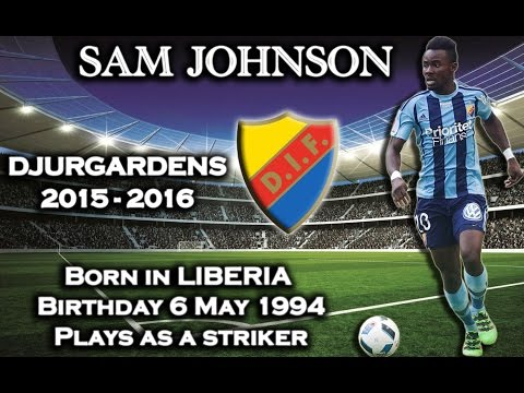 Sam Johnson - Goals Djurgardens   [HD]