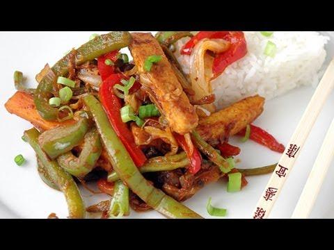 Chop suey aux légumes