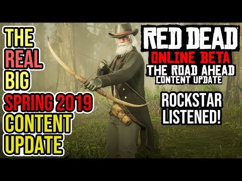 Red Dead Redemption 2 Online - The Road Ahead BIG SPRING 2019 Content Update Breakdown! thumbnail