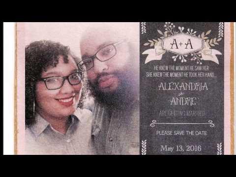 Andre & Alexandria Wedding May 13, 2016